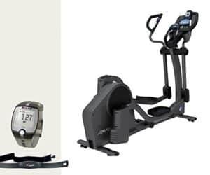 Life Fitness E5 Track Crosstrainer - inkl. Gratis FT1 Polar Pulsuhr, Brustgurt und Bodenmatte